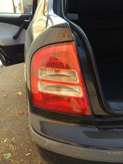Фонарь задний на Skoda Octavia RS